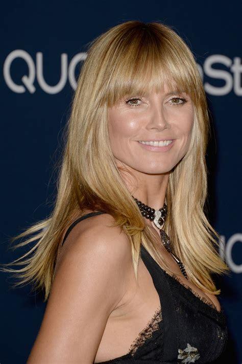 Heidi Klum Instyle Warner Bros Golden Globes After