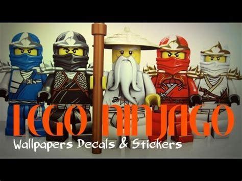 lego ninjago wallpaper decals stickers  kids bedroom