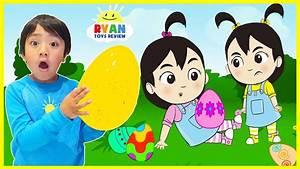Easter Egg Hunt Surprise for Kids with Ryan, Emma, Kate ...