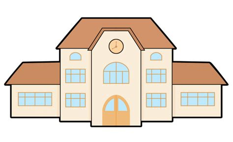 School Building Clipart 1 School Building Clip Art Image #25412