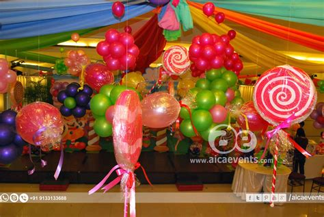 aicaevents india candy land theme decorations