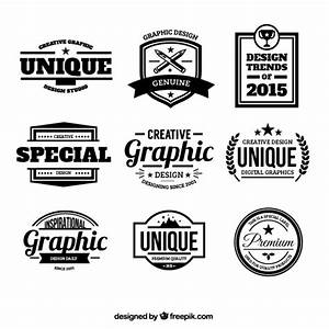 Design badges in retro style Vector   Free Download