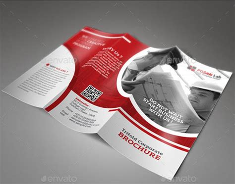 engineering company brochures word psd ai