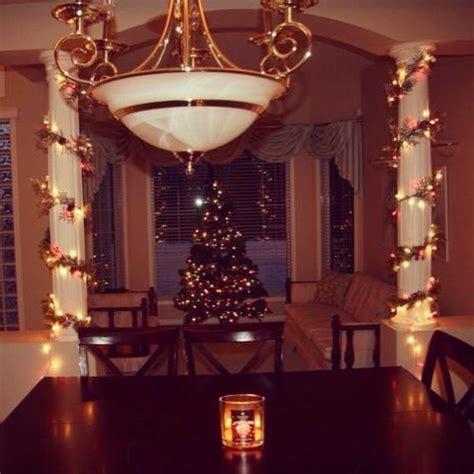 diy decor   home  pillars christmas decorating