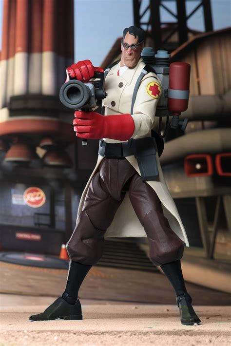 Team Fortress 2 7″ Scale Action Figures Series 4 Red