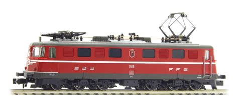 fleischmann 737213 n electric locomotive ae 6 6