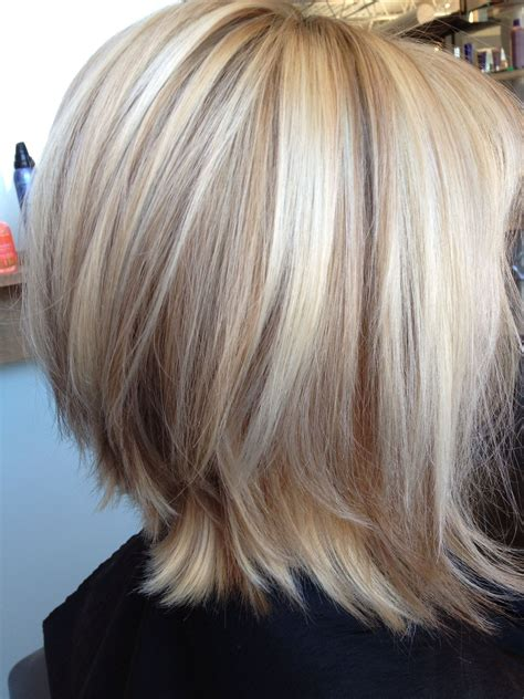 Hair With Lowlights Hairstyles by Gorgeous Bob With Lowlights Oh What Beautiful
