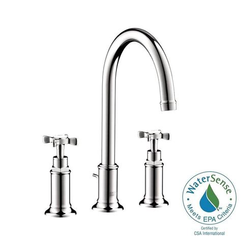 hansgrohe axor montreux widespread bathroom faucet chrome