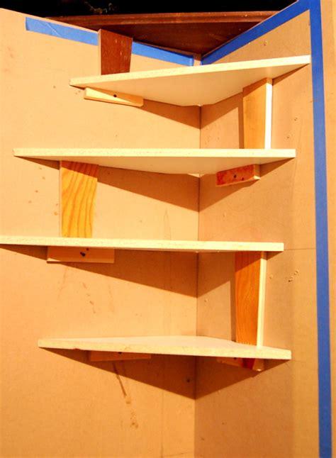 diy corner bookshelf design plans  bookcase plans