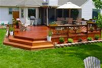 great wood patio design ideas Top 2018 Wood Deck Designs Ideas & Pictures