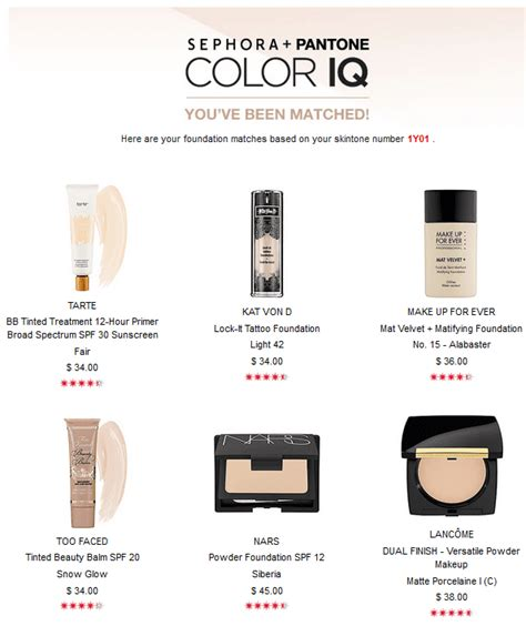 sephora color iq sephora color iq in store experience on pale skin with rosacea