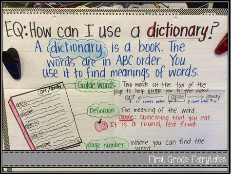 some freebies for teaching dictionary skills language