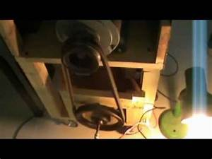 Boondee Electric Generator Using 3 Phase Motor To Generate