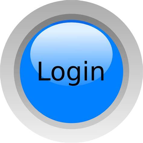 Login Images Login Blue Clip At Clker Vector Clip