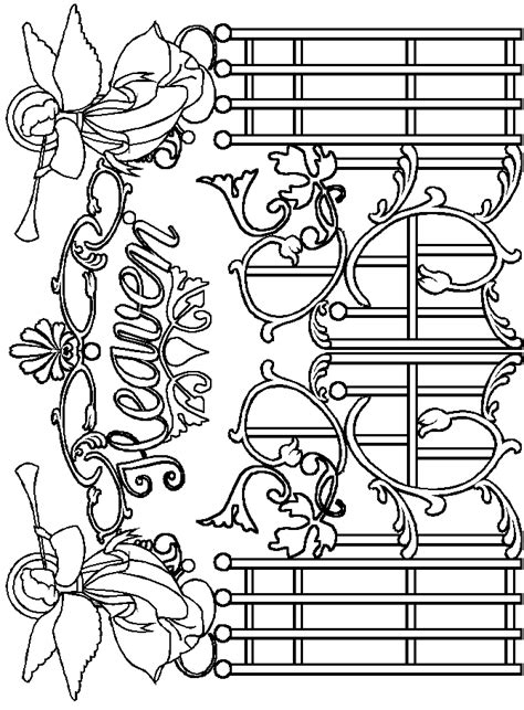 heaven coloring pages kids coloring home