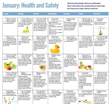 preschool health and safety lesson plans lesson plan 650 | teaching tlc preschool lesson plans entire year