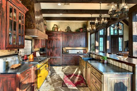 Indian Lakes, Mountain Lodge Style   Rustic   Kitchen