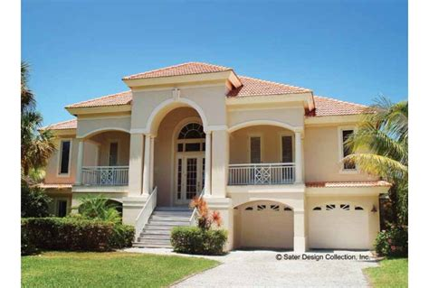 Mediterranean Villa House Plans