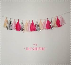 Guirlande De Pompon : diy jolie guirlande diy mariage queen for a day blog mariage ~ Teatrodelosmanantiales.com Idées de Décoration