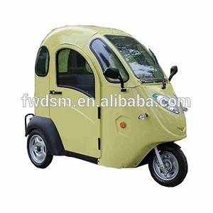 Enclosed Cabin Scooter Low-speed Senior Electric Vehicles ...