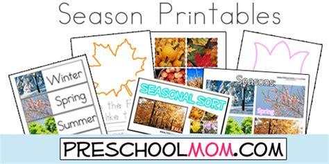 seasons preschool printables teaching preschool printables preschool special education