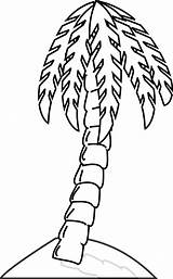 Banana Tree Coloring Pages Leaf Clipart Template sketch template