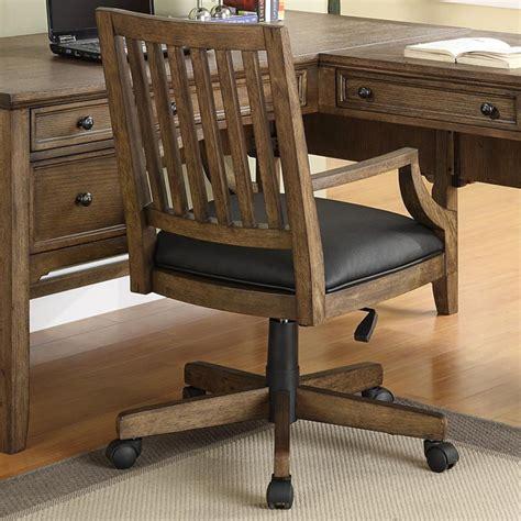 wooden desk chair antique wooden desk chair on wheels antique furniture