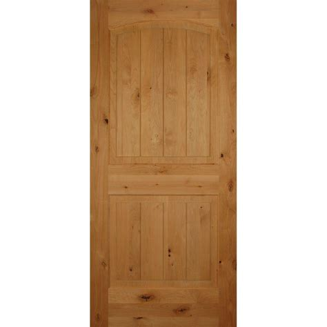 Prehung Interior Doors by Builders Choice 30 In X 80 In 2 Panel Arch Top