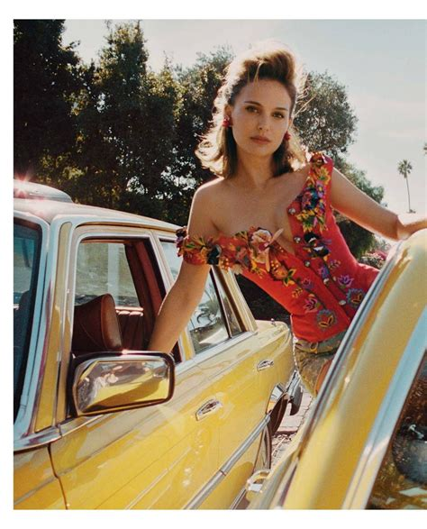 Natalie Portman In Porter Magazine, Spring 2018 Hawtcelebs