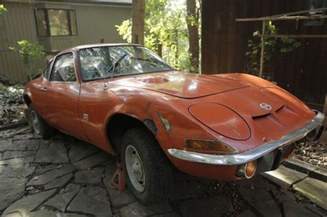 1970 Opel Gt Parts by 1970 Opel Gt 1900 Great Parts Car Does Not Start For