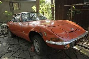 1970 Opel Gt 1900  U2013 Great Parts Car  U2013 Does Not Start For