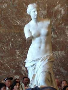 Aphrodite of Milos better known as Venus de Milo ...