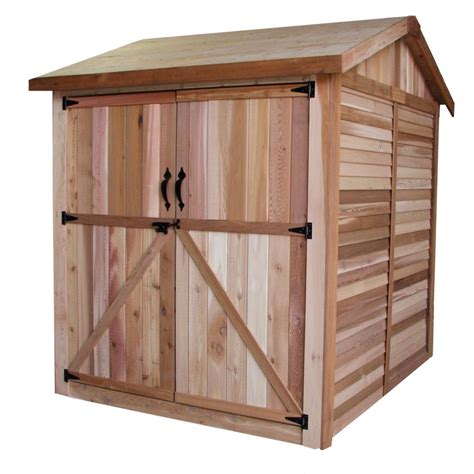 Home Depot Backyard Sheds by Outdoor Living Today 6 Ft X 6 Ft Maximizer Storage Shed