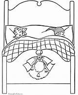 Coloring Eve Bed Beds Printable Sleep Bunk Sleeping Parents Template Kid Asleep Dot Popular Raisingourkids Holiday Printing sketch template