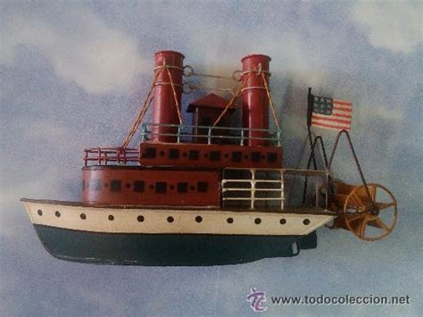 Barco De Vapor Antiguo by Antiguo Juguete Barco Vapor De Hojalata Mbe 30 Comprar