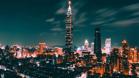 Taipei Cityscape 5k Wallpapers Hd Wallpapers