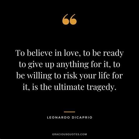 46 Inspirational Leonardo DiCaprio Quotes (ACTING)