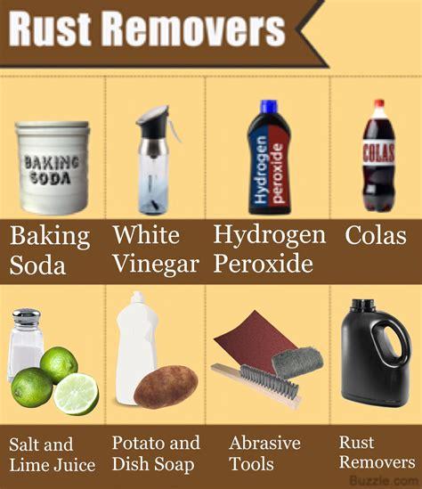 ways  clean rust  metal  buzzle