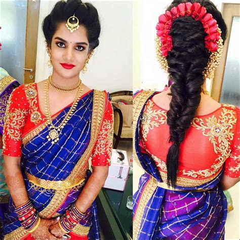 indian wedding hair styles south indian bridal hairstyles for receptions 1550
