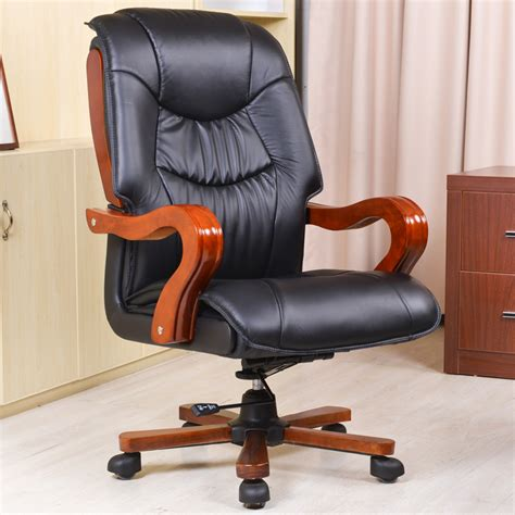 cheap leather chair swivel computer office reclining