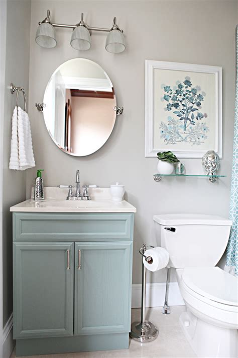 guest bathroom vanity a colored vanity can set the tone for a guest or master