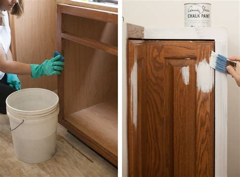 painting kitchen cabinets with chalk paint painting cabinets with chalk paint pros cons a 9062