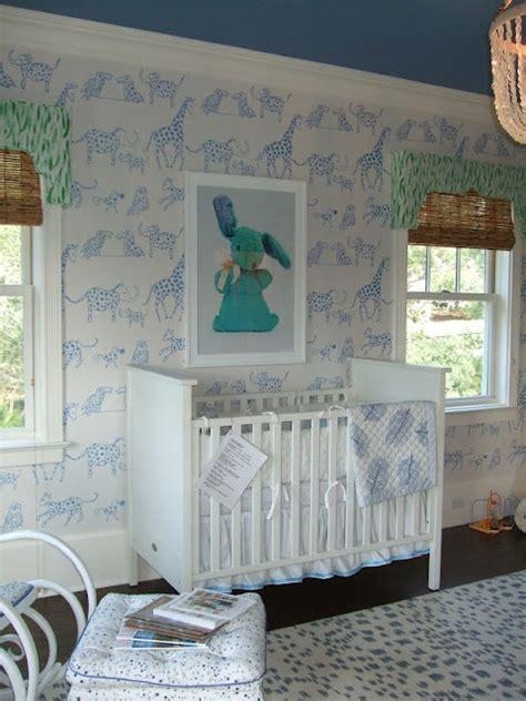Animal Nursery Wallpaper - 738 best nurseries images on child room