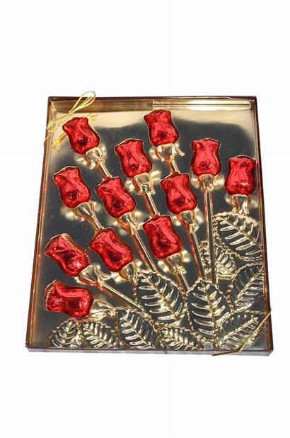 Box Rosebud Valentine Dozen Rose Bud Candy