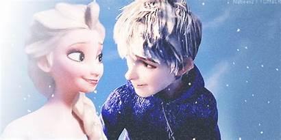 Elsa Frost Jack Kiss Jelsa Fanpop Frozen