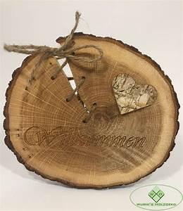 Basteln Mit Baumscheiben : baumscheiben kaufen wurmis holzdeko online shop ~ Watch28wear.com Haus und Dekorationen