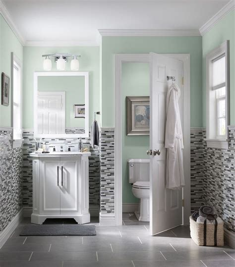 paint colors for bathrooms with grey tile 669 best bathroom inspiration images on