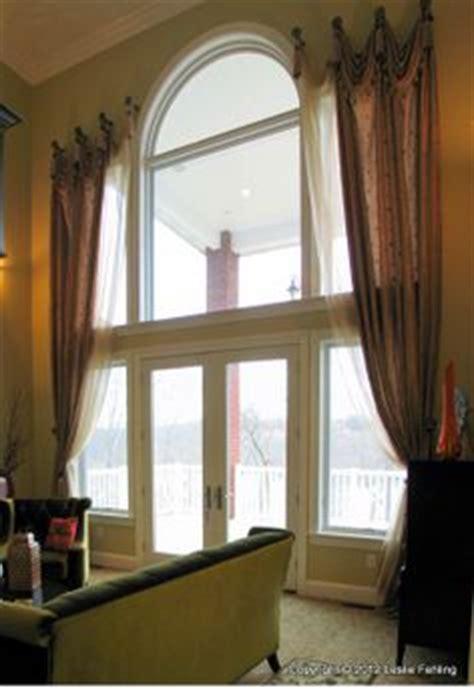 story windows  pinterest tall window treatments