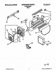 Kitchenaid Ice Maker Kits Parts