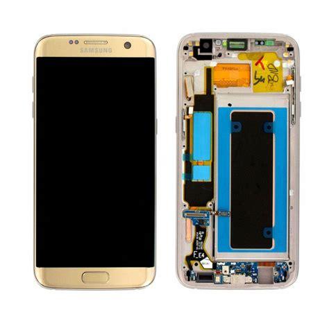 samsung g935f galaxy s7 edge lcd display module gold